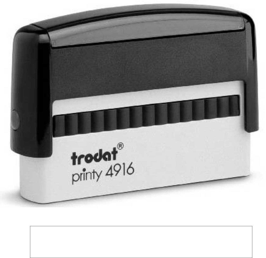 Trodat Printy | 4916 70x10mm