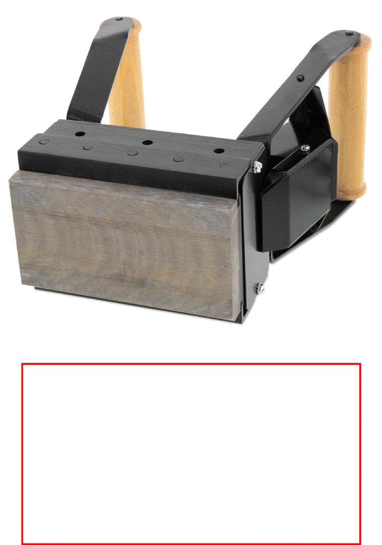 ALK S158 Brennstempel 150 x 80 mm