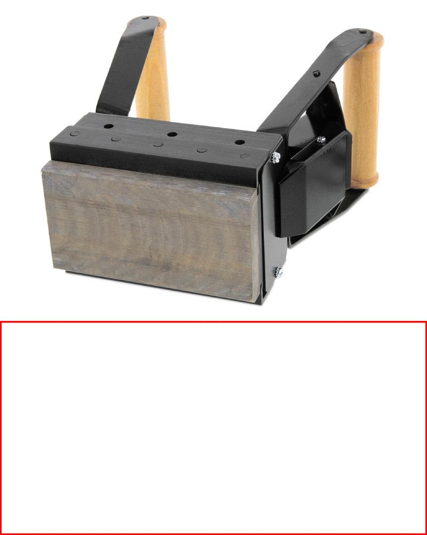 ALK S210 Brennstempel 200 x 100 mm