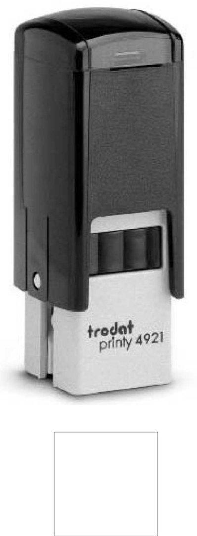 Trodat Printy | 4921 12x12mm