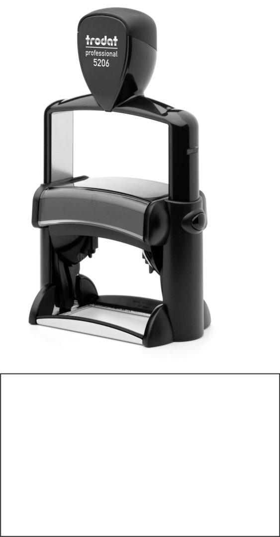 Trodat Professional 5206 | 56x33mm