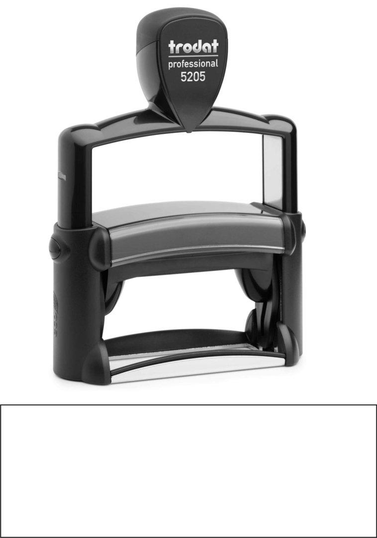 Trodat Professional 5205 | 68x24mm