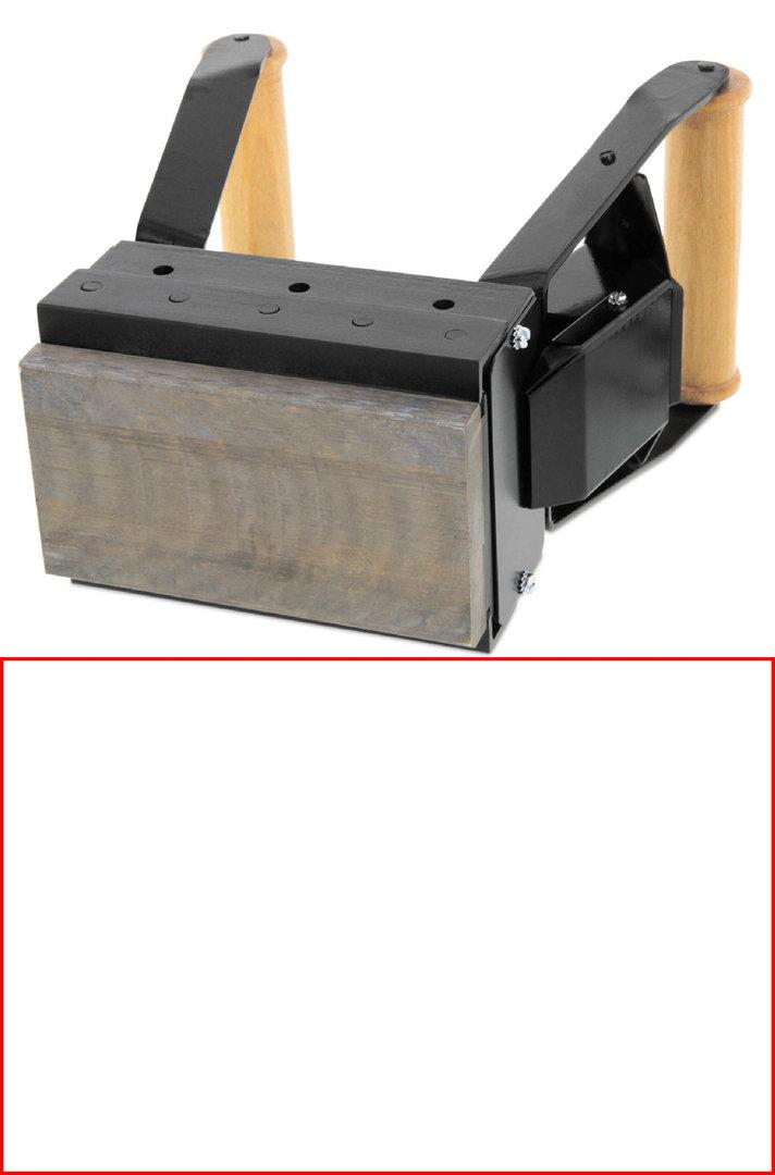ALK S151 Brennstempel 150 x 100 mm