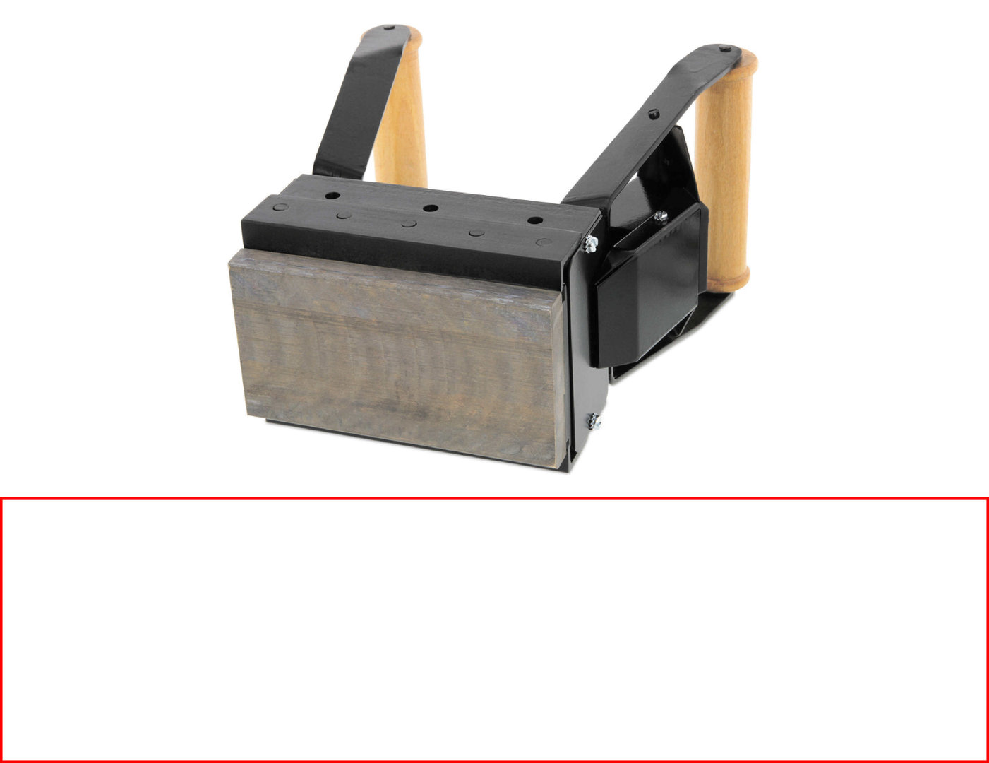ALK S308 Brennstempel 300 x 80 mm
