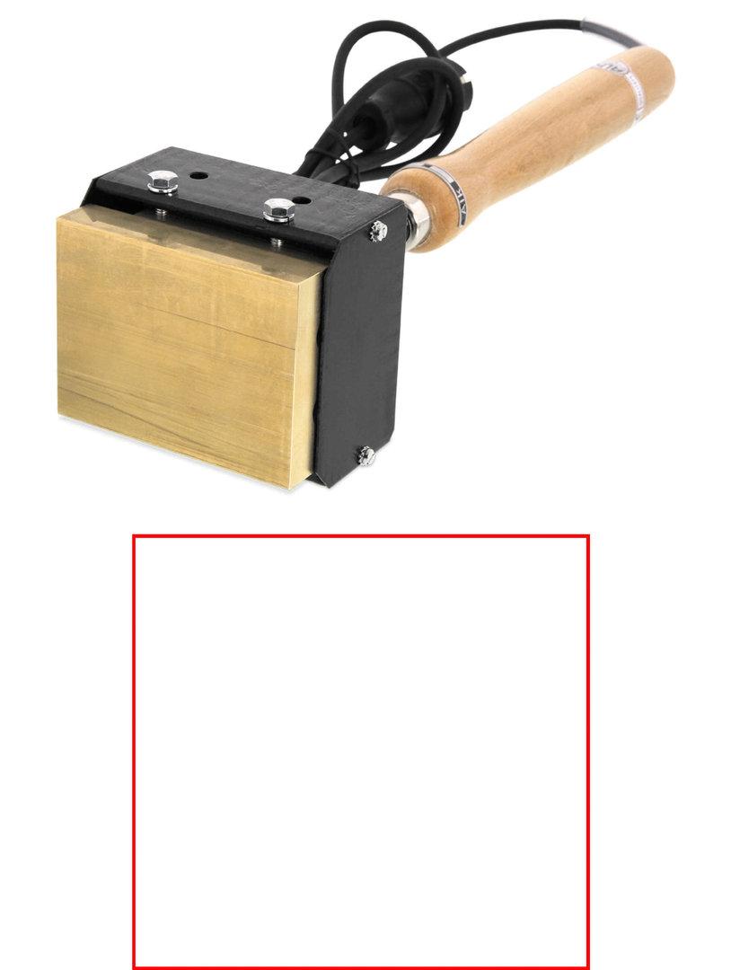 ALK HLP118N Brennstempel 105 x 100 mm