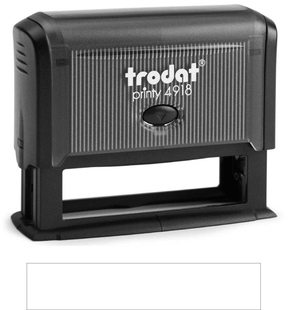 Trodat Printy | 4918 75x15mm