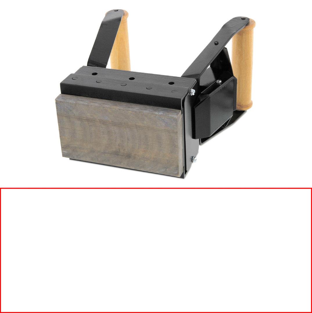 ALK S251 Brennstempel 250 x 100 mm