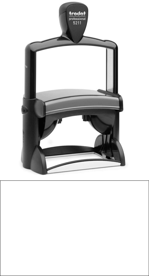 Trodat Professional 5211 | 85x55mm