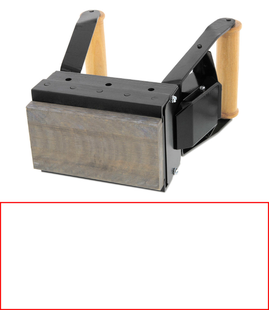 ALK S208 Brennstempel 200 x 80 mm