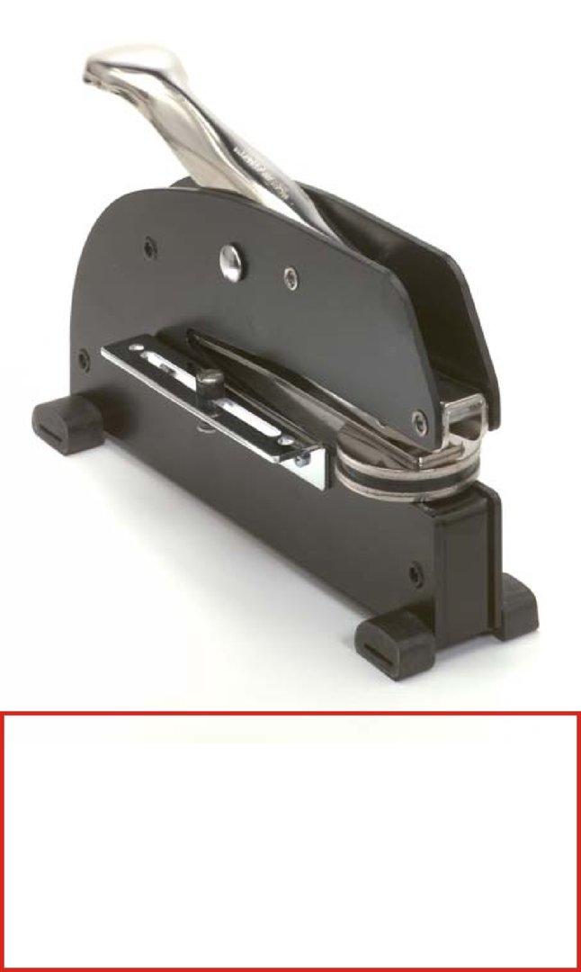 Tischprägepresse JLR | eckig 45x20mm